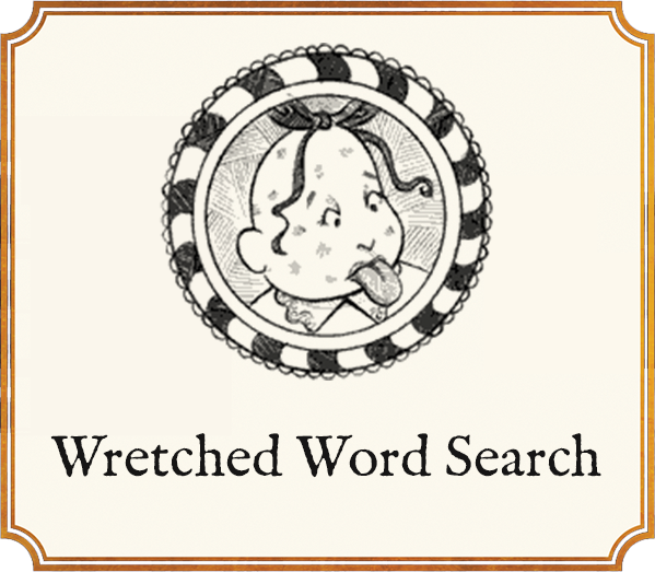 Wretched Word Search