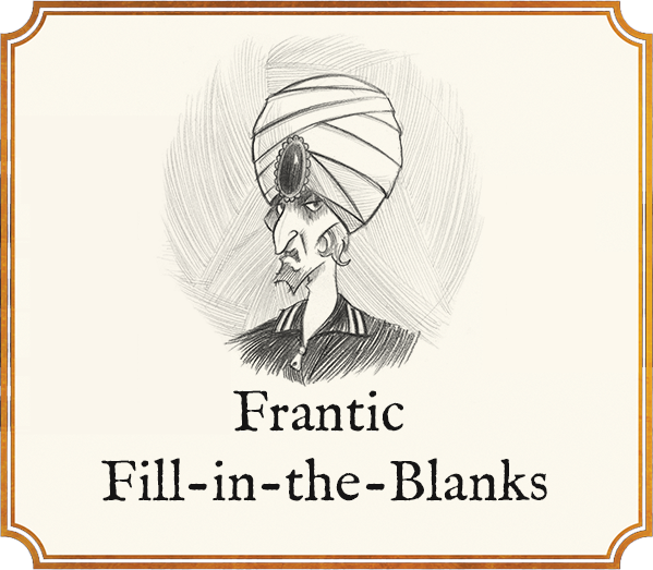 Promos Franticblanks